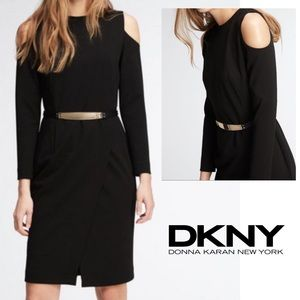 NWT DKNY Cold shoulder dress cocktail party